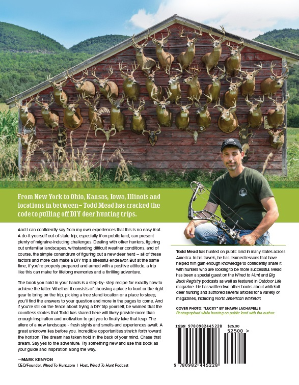 Todd Mead Public Land Bucks Back Cover